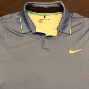 Light Blue Nike Golf Polo XXL